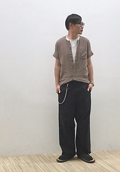 ★masaki★ - Ch. Top, Ch. Wide Pants, Gion Naito Jojo, Emanuelle Khanh Glasses - Trash style 178