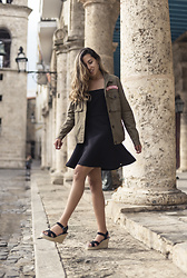 Raquel Paiva - Superdry Dress, Superdry Jacket - The Night is Yougn
