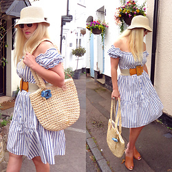 Alice Liddell - Boohoo Dress, Primark Hat - Picnic