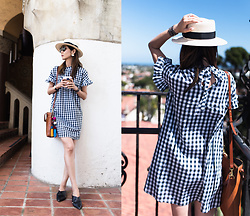 Helen @ mountainandcloud.com - Shein Dress - Classic Gingham