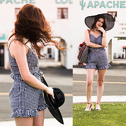 Shelly Stuckman - Charlotte Russe Top - Summer Gingham