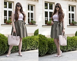 Feather P - Mohito Skirt, Bershka Top - Skirt