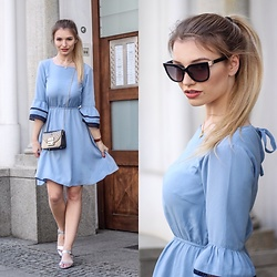 Franziska Elea - Mint&Berry Dress, Furla Bag, Mime Et Moi Sandals, Fendi Sunnies - Good Girl