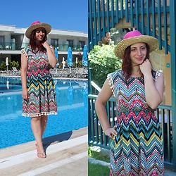 Rebel Takipte - Chicuu Colorful Dress - Colorful Dress