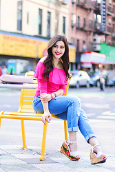 Carly Maddox -  - Boldly Colored Tops Make Every Outfit POP!