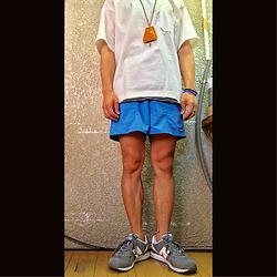 Keysyu Takagi - Globalwork Tops, Globalwork Inner, Patagonia Bottom, New Balance Shoes - Outfit