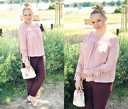 Kasia Koniakowska - Shirt, H&M Pants, Tkmaxx Bag - Summer look