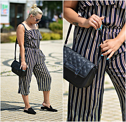 Make Your Style - Zaful - Striped Romper