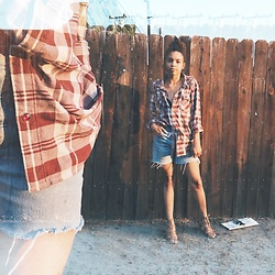 Ashley Berry - Levi's® Vintage Levi's, Vans Men's Button Up - Vintage Levi's & an Ex's Shirt