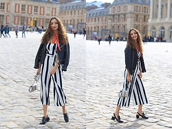 Ranim H. - H&M Jumpsuit - Striped Jumpsuit in France