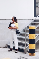 Bárbara Marques - Zaful T Shirt, Michael Kors Bag, Zara Culottes, Primark Sandals, Ray Ban Sunglasses - LAPSE OF INTELLIGENCE