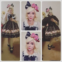 Ali Bee -  - Cherry Rose Coord