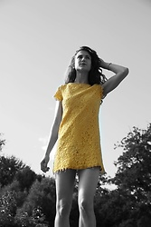 Andrea Andrea -  - YELLOW SUMMER DRESS - CATWALK AVENUE BY ANDREA
