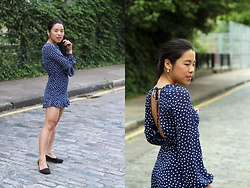Thuy Pham - H&M Jumpsuit, Primark Balerina - Dotted jumpsuits