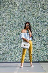 Jennifer S - Wearmepro Sunglasses, Zara Top, Gabriela Rocha Bag, Zara Pants, Nasty Gal Heels - Just Tryna