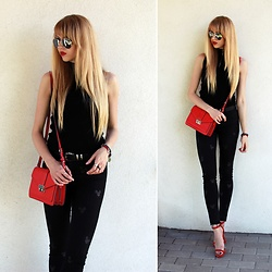 Diane Fashion -  - Black and red