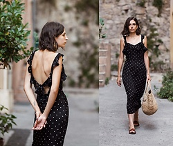 Aria -  - Polka dot dress