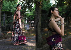 Marketa S. - Gucci Bag, Zara Dress - Velvet