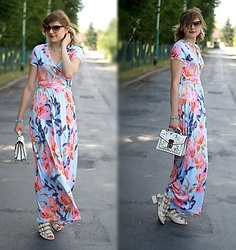 Kamila Krawczyk - Lovelywholesale Dress, Lovelywholesale Bag, Asos Shoes, Rosegal Necklaces - Something optimistic
