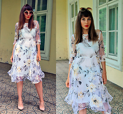 Jointy&Croissanty © - Fashionmia Dress - Floral dress