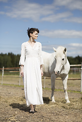 Josefin T -  - The dream of a white horse