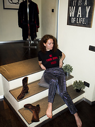 Anna Okonishnikova - By Malene Birger Tee, By Malene Birger Pants, By Malene Birger Boots - BE YOUR OWN MUSE
