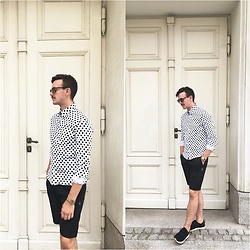 Bartek Piekara - Ray Ban Sunglasses, Innate Shirt, Innate Shorts - Dots from Innate