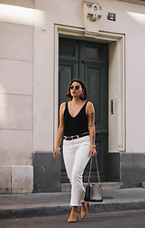 Sophie van Daniels - Ace&Tate Sunnies, H&M Knit Top, Mango Denim, A.P.C. Bag - La vie parisienne