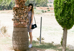 Cosmina M. //mbcos.net - Fashionmia Dress, Calvin Klein Bag, Trusardi Jeans Sneakers - Ifashionmia dress & Trusardi sneakers