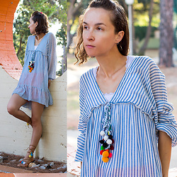 Iva K - Zara Dress - Striped tunic