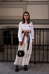 Swantje Sömmer | OffwhiteSwan - Chloé Bag, Shop All Items On The Blog - Comme Des Garçons Shirt, Lace Skirt & Chloé Drew Bag