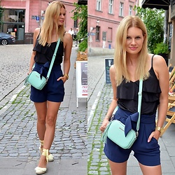 Kamila Libelula - Fabiola Bag, Gino Rossi Watch, Renee Shoes - City Casual