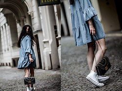 Elifnaz Kuşkaya -  - Denim Dress