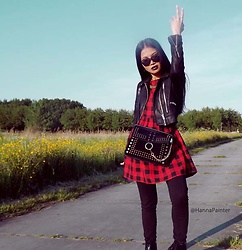 Hanna From HOLLAND - Bag, Dress, Youtube, Facebook, Instagram, Google+ - Rock your style <3