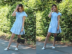 Sabina S. -  - BABY BLUE DRESS / brenda-shop.com
