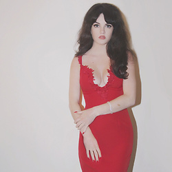 Abbey - Shein Red Dress - Off To The Races