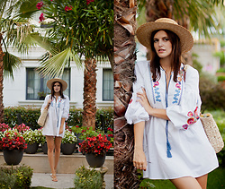 Viktoriya Sener - Romwe Dress - WEEKEND NEAR POOL
