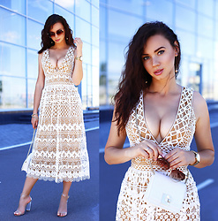 Anna Mour ♥ -  - Corded lace dress
