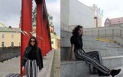 Kasia M - Mango Pants, H&M Jacket - Summer in the city