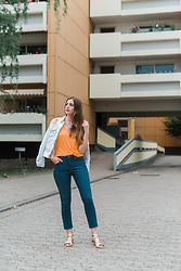 Andrea Funk / andysparkles.de - Justfab Jeans - Colour Splash - High Waist Jeans