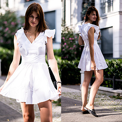 Jacky - Asos Dress - White Summer Dress