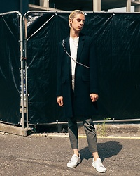 Mikko Puttonen - Weekday Coat, Jil Sander Shoes - WEEKDAY