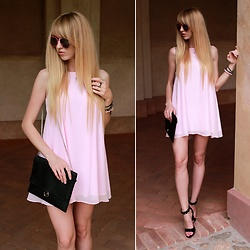 Diane Fashion -  - Light pink and black