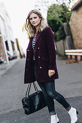 Christina Roys - Missguided Coat - Winter Berry