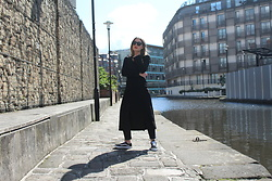 Angharad Jones - Asos Sunglasses, & Other Stories Dress, Asos Jeans, Vans Trainers - All Black and Vans Old Skools