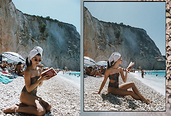 Euridice K - Sun Set Go Swimsuit - Postcards from Lefkas,Greece