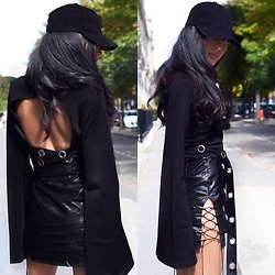 Damy Ben limore - Missguided Top, Missguided Skirt - Black ??