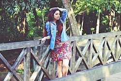 Nde -  - Colorful dress + Jeans shirt ♡