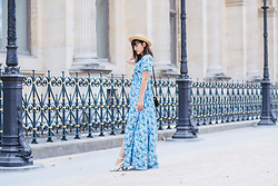 Nikita Wong - Lady Marshmallow Floral Dress, Missguided Studded Shoes - Florals for summer