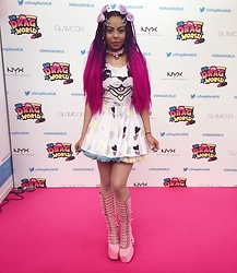 Shady Kleo - Roxie Sweetheart Dress, Current Mood Clothing Shoes, 8thsincreations Choker - Dragworld 2017